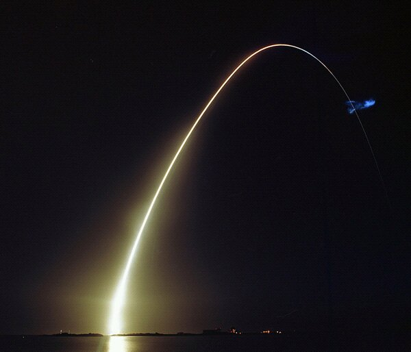 STS-131 Long exposure by uri_ba