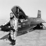 Neil next to X-15